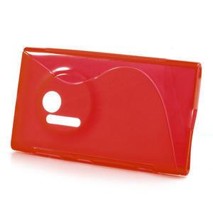 Gélové S-line puzdro pre Nokia Lumia 1020- červené - 2