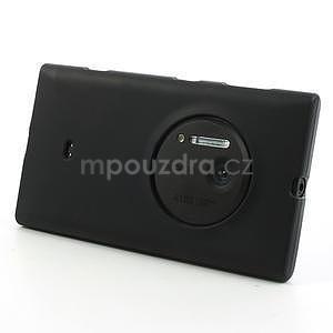 Gélové matné puzdro pre Nokia Lumia 1020- čierné - 2