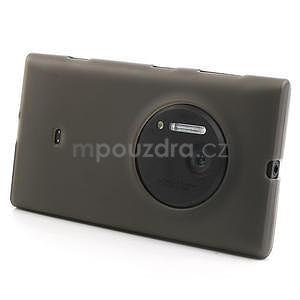 Gélové matné puzdro pre Nokia Lumia 1020- šedé - 2