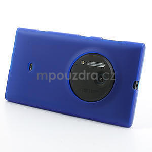 Gélové matné puzdro pre Nokia Lumia 1020- modré - 2