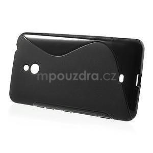 Gélové S-line puzdro pre Nokia Lumia 1320- čierné - 2