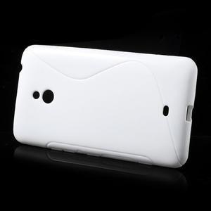 Gélové S-line puzdro pre Nokia Lumia 1320- biele - 2