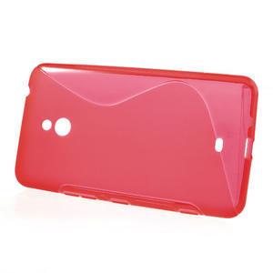 Gélové S-line puzdro pre Nokia Lumia 1320- červené - 2