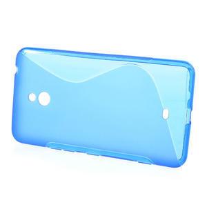 Gélové S-line puzdro pre Nokia Lumia 1320- modré - 2