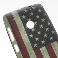 Gélové puzdro na Nokia Lumia 520- USA vlajka - 2/3