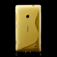 Gélové S-line puzdro na Nokia Lumia 520- transparentný - 2/6
