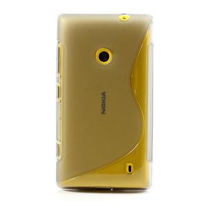 Gélové S-line puzdro na Nokia Lumia 520- šedé - 2
