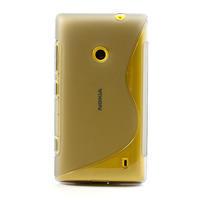 Gélové S-line puzdro na Nokia Lumia 520- šedé - 2/7