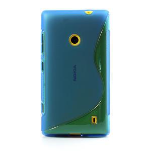 Gélové S-line puzdro na Nokia Lumia 520- modré - 2