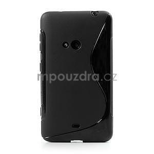 Gélové S-line puzdro pre Nokia Lumia 625- čierné - 2
