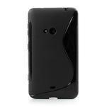 Gélové S-line puzdro pre Nokia Lumia 625- čierné - 2/6