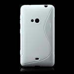 Gélové S-line puzdro pre Nokia Lumia 625- biele - 2/7