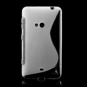 Gélové S-line puzdro pre Nokia Lumia 625- transparentný - 2