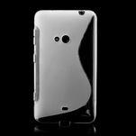 Gélové S-line puzdro pre Nokia Lumia 625- transparentný - 2/7