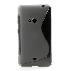 Gélové S-line puzdro pre Nokia Lumia 625- sivé - 2