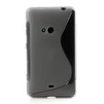 Gélové S-line puzdro pre Nokia Lumia 625- sivé - 2/5