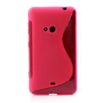 Gélové S-line puzdro pre Nokia Lumia 625- ružové - 2/6