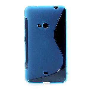Gélové S-line puzdro pre Nokia Lumia 625- modré - 2