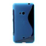 Gélové S-line puzdro pre Nokia Lumia 625- modré - 2/6