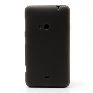 Gélové matné puzdro pre Nokia Lumia 625- sivé - 2