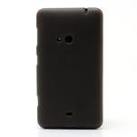 Gélové matné puzdro pre Nokia Lumia 625- sivé - 2/5