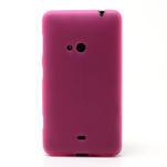 Gélové matné puzdro pre Nokia Lumia 625- ružové - 2/5