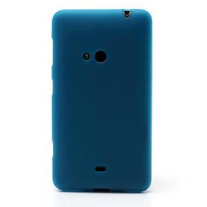 Gélové matné puzdro pre Nokia Lumia 625- svetlo modré - 2