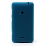 Gélové matné puzdro pre Nokia Lumia 625- svetlo modré - 2/5