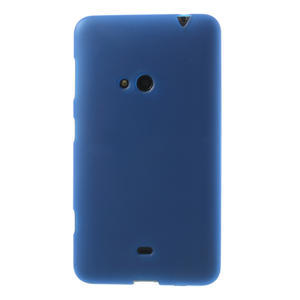 Gélové matné puzdro pre Nokia Lumia 625- modré - 2