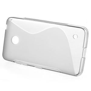 Gélové S-line puzdro na Nokia Lumia 630- sivé - 2