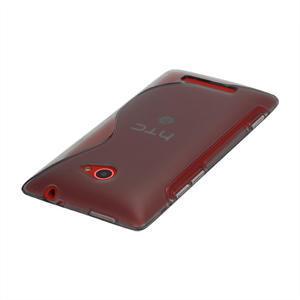 Gélové S-line puzdro pre HTC Windows phone 8X- šedé - 2