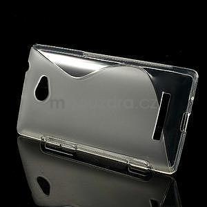 Gélové S-line puzdro pre HTC Windows phone 8X- transparentný - 2