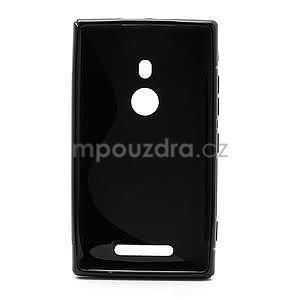 Gélové S-liné puzdro pre Nokia Lumia 925- čierné - 2