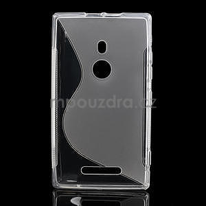 Gélové S-liné puzdro pre Nokia Lumia 925- transparentný - 2