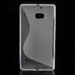 Gélové S-line puzdro na Nokia Lumia 930- transparentný - 2
