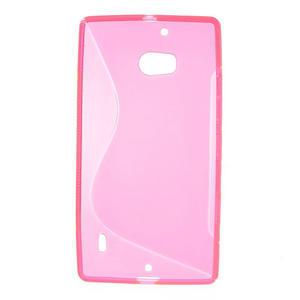 Gélové S-line puzdro na Nokia Lumia 930- růžové - 2