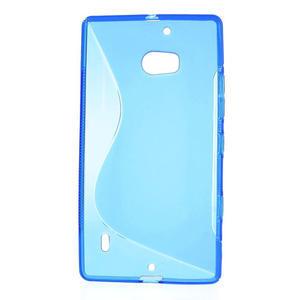 Gélové S-line puzdro na Nokia Lumia 930- modré - 2