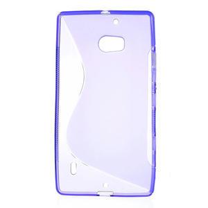 Gélové S-line puzdro na Nokia Lumia 930- fialové - 2