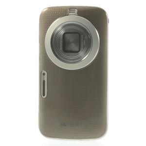 Gélové Ultraslim puzdro na Samsung Galaxy K Zoom- šedé - 2