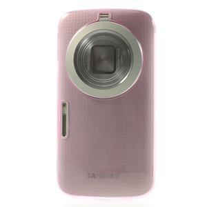 Gélové Ultraslim puzdro pre Samsung Galaxy K Zoom- ružové - 2