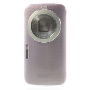 Gélové Ultraslim puzdro na Samsung Galaxy K Zoom- fialové - 2