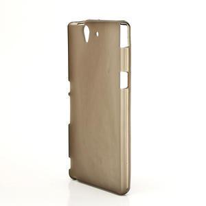 Gélové puzdro pre Sony Xperia Z L36i C6603- sivé - 2