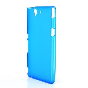 Gélové puzdro na Sony Xperia Z L36i C6603- modré - 2