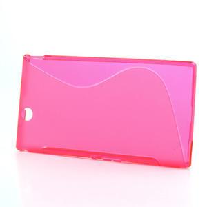 Gélové S-line puzdro pre Sony Xperia Z ultra- ružové - 2
