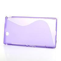 Gélové S-line puzdro pre Sony Xperia Z ultra- fialové - 2/5