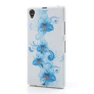 Gélové puzdro pre Sony Xperia Z1 C6903 L39- modrá lilie - 2
