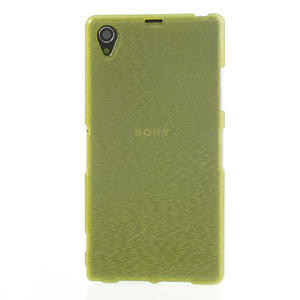 Kartáčované pouzdro na Sony Xperia Z1 C6903 L39- zelené - 2