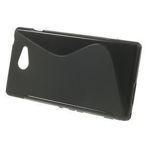 Gélové S-line puzdro na Sony Xperia M2 D2302- čierné - 2