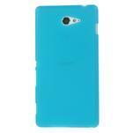 Gélové tenké puzdro na Sony Xperia M2 D2302 - svetlo modré - 2/5