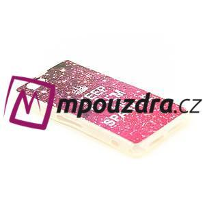 Gélové puzdro pre Sony Xperia Z1 Compact D5503 - Keep Calm and Sparkle - 2